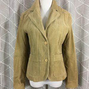 H&M Tan Corduroy Blazer / Jacket